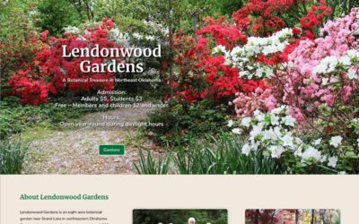 New Website for Lendonwood Gardens